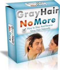 Ebook cover: Gray Hair No More