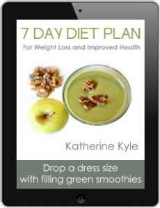 Ebook cover: Green Smoothie 7 Day Detox Diet Plan