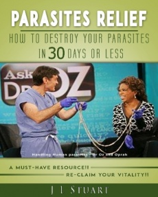 Ebook cover: Parasites Relief