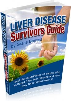 Ebook cover: Liver Disease Survivors Guide