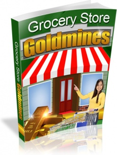 Ebook cover: Grocery Store Goldmines