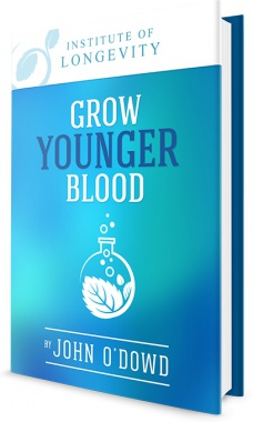 Ebook cover: Grow Younger Blood