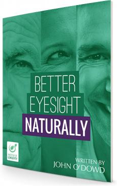 Ebook cover: Better Eyesight Naturally