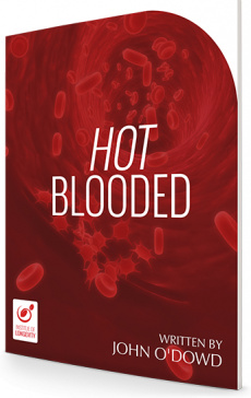 Ebook cover: Hot Blooded