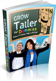 Ebook cover: Grow Taller For Dummies