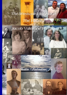 Ebook cover: The Westward Migration - The History of the Jacob Valentine Family