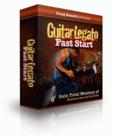 Ebook cover: Guitar Legato Fast Start