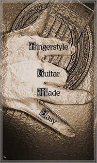 Ebook cover: Fingerstyle Guitar Made Easy
