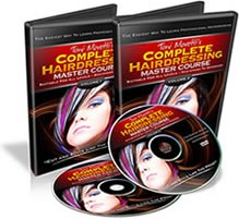 Ebook cover: Complete Hairdressing Course