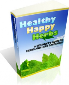 Ebook cover: Healthy Happy Herbs