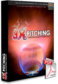 Ebook cover: 3X Pitching Beginners