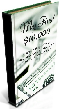 Ebook cover: My First $10,000