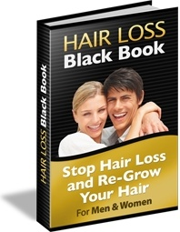 Ebook cover: Hair Loss Black Book