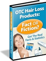 Ebook cover: OTC Hair Loss Products: Fact Or Fiction