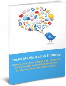Ebook cover: Social Media Action Strategy