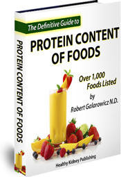 Ebook cover: The Definitive Guide To Protein Content Of Foods