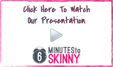 Ebook cover: 6 Minutes to Skinny