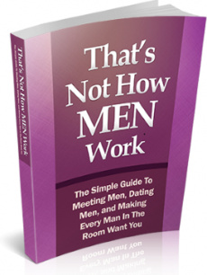 Ebook cover: That's Not How Men Work