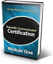 Ebook cover: Hypnotic Communicator Certification