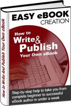 Ebook cover: Easy Ebook Creation