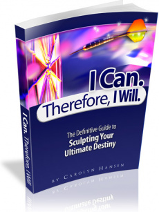 Ebook cover: I Can, Therefore I Will