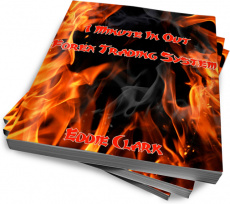 Ebook cover: 1 minute in out Trading System