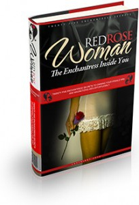 Ebook cover: Red Rose Woman