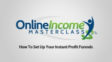 Ebook cover: Online Income Masterclass