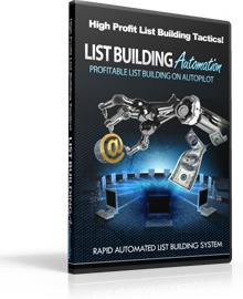 Ebook cover: List Building Automation