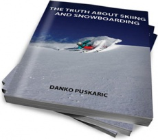 Ebook cover: The Truth About Skiing and Snowboarding