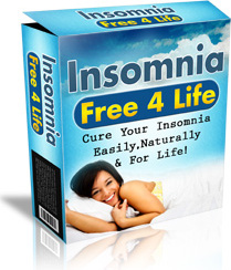 Ebook cover: Insomnia Free for Life