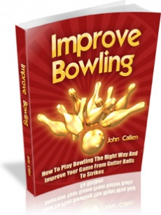 Ebook cover: Improve Bowling