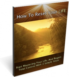 Ebook cover: Reset Your Life