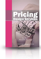 Ebook cover: Pricing Design Services