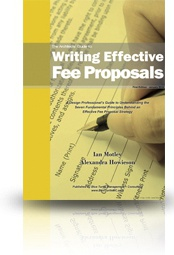 Ebook cover: The Architect's Guide to Writing Effective Fee Proposals