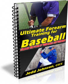 Ebook cover: Ultimate Forearm Training for Baseball