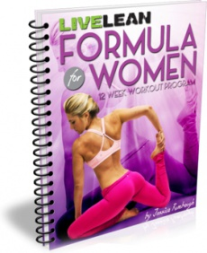 Ebook cover: Live Lean Formula for Women