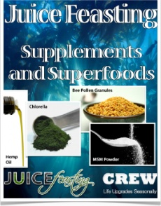 Ebook cover: Juice Feasting CREW