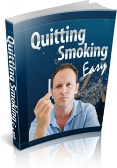 Ebook cover: Quitting Smoking Easy