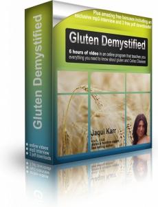 Ebook cover: Gluten Demystified