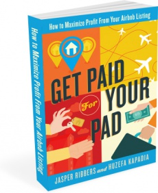 Ebook cover: How to Maximize Profit From Your Airbnb Listing!