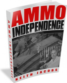 Ebook cover: Ammo Independence: The Firearms Survival Guide