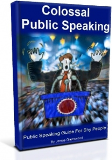 Ebook cover: Colossal Public Speaking