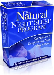Ebook cover: Natural Night Sleep Program