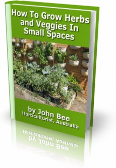 Ebook cover: How To Grow Herbs and Veggies in Small Spaces