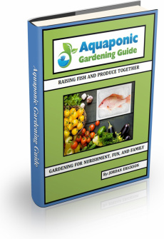 Ebook cover: Aquaponic Gardening Guide