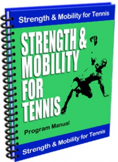 Ebook cover: Strength and Mobility for Tennis