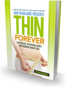 Ebook cover: Thin Forever'