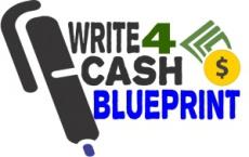Ebook cover: The Write for Cash Blueprint