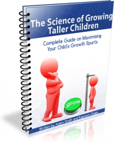 Ebook cover: The Science of Growing Taller Children